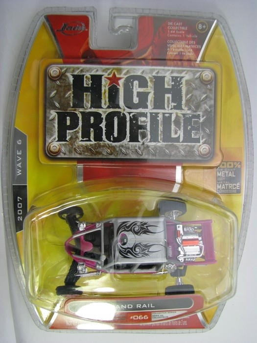 Sand Rail Dune Buggy Pink 1:64 High Profile Jada Toys